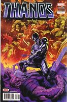 THANOS #17.  NM+  2nd PRINT.  CATES THE FALLEN ONE. SILVER SURFER BLACK COVER!