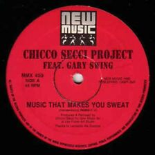 Chicco Secci Project Feat. Gary Swing ‎– Music That Makes You Sweat! - MIX-2545