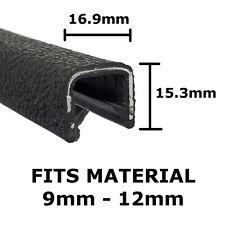 BLACK PROTECTIVE EDGE TRIM SJ912 - Interior Exterior - PVC EDGING Rubber