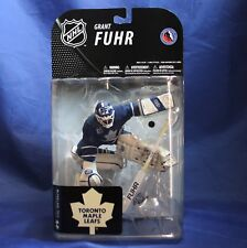 McFarlane NHL Series 19  Toronto Maple Leafs Grant Fuhr Action Figure