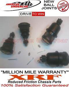 XRF Lifetime Ball Joint Kit Dodge Ram 2500 3500 Van Upper & Lower w/ 4000lb axle