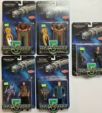 Babylon 5 Action Figure Lot Of 5 Carded Previews Exclusives - Icanova, Vorlons +
