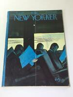 The New Yorker: November 4 1961 - Full Magazine/Theme Cover Arthur Getz