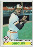 1979 Topps #640 Eddie Murray Pack Fresh Mint+ Baltimore Orioles FREE SHIPPING