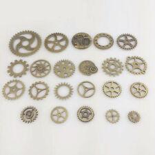 25g Metal Steampunk Watch Gears Parts Mixed Wrist Watch Wheels Steam Punk Acces