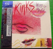 The Kinks - Word of Mouth (1984) / JAPAN Mini LP SHM-CD (2008) NEW +2 bonus