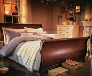 Super King Size Sleigh Bed Frame / Wooden Bed Frame