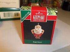 Bright Boxers`1991`Miniature-Santa In Boxer Shorts,Hallmark Ornament-:>On Sale