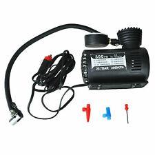 Tire Inflator 12V Portable Air Compressor Car Compact Auto Tire Pump 300PSI