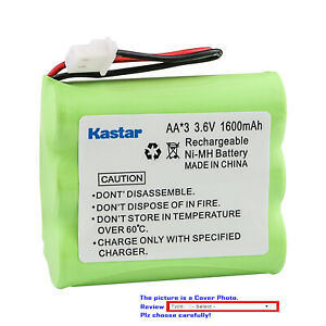 Kastar Ni-MH 1600mAh Battery Replace for DS-900 Aastra IBM Rayovac RAY42 Sanyo