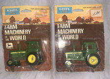 2x ERTL Farm Machinery of The World John Deere Tractor With Sound Body 1619