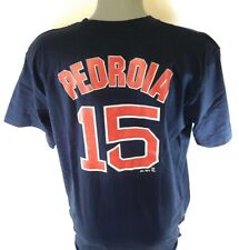0219d85d7 Majestic Dustin Pedroia Boston Red Sox Navy Big & Tall Official Player T- shirt 5xlt