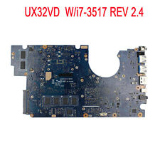 For ASUS UX32VD Laptop Motherboard Intel Core i7-3517 Mainboard 60-NP0MB1N00