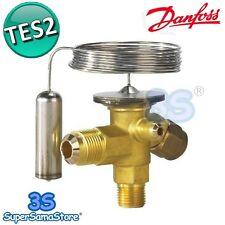 3S VALVOLA TERMOSTATICA D'ESPANSIONE TES2 DANFOSS REFRIGERAZIONE GAS R404A R507