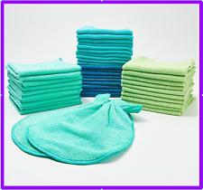 Premium Microfiber Towels 220gsm Set 42 Pcs for Home & Auto etc.. By Campanelli
