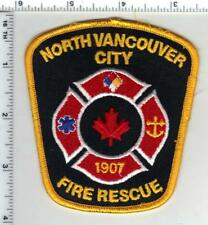 North Vancouver City Fire Rescue (British Columbia Canada) Yellow Shoulder Patch