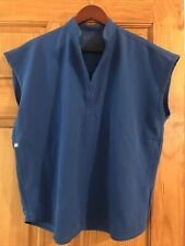 figs royal blue top size small