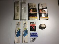Vintage Fishing Hook & Tool Lot Snelled Wire Leaders Snell Tier Twis-No-No