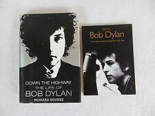 Lot of 2 Bob Dylan Biographies Down the Highway & The Stories Behind the Songs