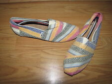 NWOB Tom's Multi Colored Classic Loafers - 9.5 European 41