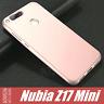 Nubia Z17 Mini Cover Case Tpu Sandstone + Vetro Temperato Full 3d Ruvida Noziroh