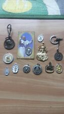 lots 12 religious medals mary jesus pope pius xi gold silver and bronze colors
