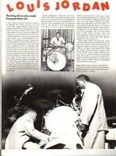 Louis Jordan Magazine Feature
