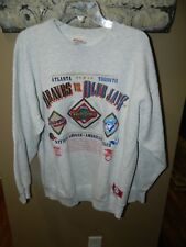 World Series Championship 1992 MLB Blue Jays Braves Sweatshirt Size X Large