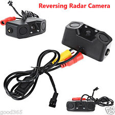Car Parking Reversing Radar Sensor Rear View Backup 170° Camera with Mount Brack