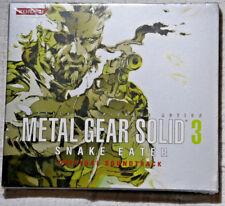 Metal Gear Solid 3 Snake Eater Original Soundtrack OST sealed PlayStation Xbox