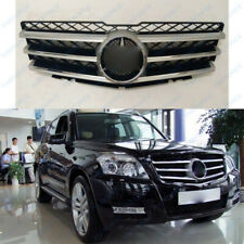 Plating Front Grille Fit For Mercedes Benz W204 GLK280 300 350 2008-12 TSY02/389