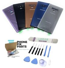 Back Glass Replacement Battery Cover Door Kit For Samsung Galaxy Note 9 +Tools