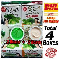 2 x Day Sunscreen SPF50 & 2 x Night Kim Bitter Gourd Bitter Melon Cream (4pcs)