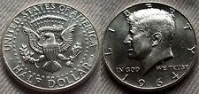 1964 P AU Kennedy Half Dollar 90% Silver US Mint Lot 3