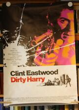 DIRTY HARRY - Poster Filmplakat gerollt - CLINT EASTWOOD 1971 EA