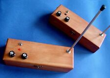 WOODEN CASE VINTAGE THEREMIN CLASSIC SOUND Sci fi Synth Fx Theramin