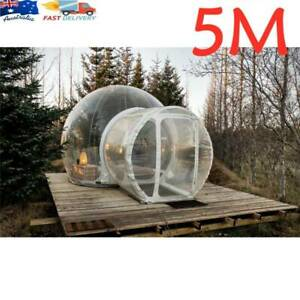 5M Inflatable Bubble Tree Tent Show House Famaily Backyard Camping Tents