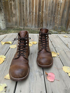 Red Wing Iron Ranger 8111 Amber Harness Nitrile Cork 11.5 EE Collector's Item