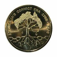 2018 $1 Convict Era 'C' Privy Mark Specimen UNC ex Mint Set in 2x2 Coin Holder