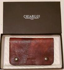 Brand New Chiarugi Handmade Leather Wallet - Handmade in Italy