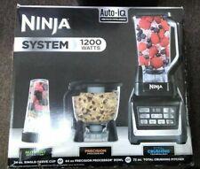 Ninja BL910 1200 Watt Food Blender System with Auto IQ - Black