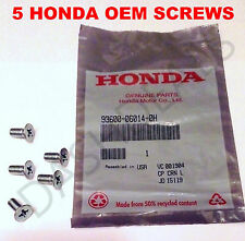 Genuine OEM Honda Disc Brake Rotor Screw Fits All Honda-Acura 1986-2016 5 Pack