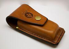 Leatherman multitool TAN leather sheath for SURGE 300 handmade by Deadskin AU