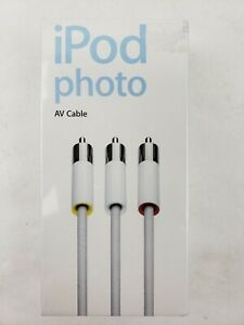 M9765G/A iPod Photo AV Cable Brand New Factory Sealed