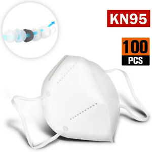 [ 40 / 100 PCS ] KN95 Protective 5 Layer Face Mask Disposable Respirator BFE 95%