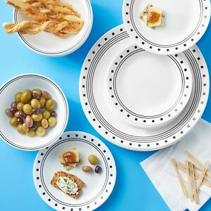 Corelle Classic City Block 16-Piece Dinnerware Set
