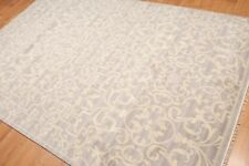 6' x 9' Hand Knotted Transitional 100% Wool Area Rug AOR8604