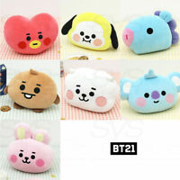 BTS BT21 Official Authentic Goods Baby Face Cushion 30cm + Tracking Number