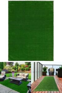 Artificial Grass Rug Turf Outdoor Indoor Patio Balcony Mat Carpet Roll 6ft x 8ft