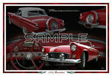 1956 Ford Thunderbird  Poster Print